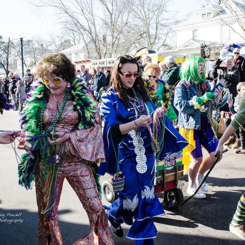 Ghent-New Bern Mardi Gras 2020 parade 2